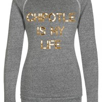 Chipotle sweater