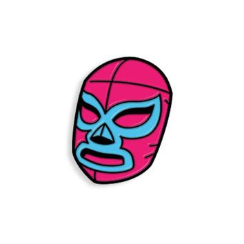 Luchador Mask from The Comic Book Story of Professional Wrestling