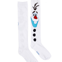 Frozen Olaf White Knee High Socks – Spirit Halloween