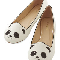 Kawaii Stroke of Genus Flat in White by ModCloth