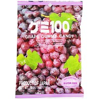 Kasugai Grape Gummy Candy, 3.7 oz (107 g)