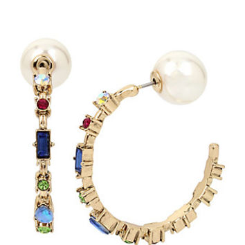 BOARDWALK SWEETS SMILEY EARRINGS: Betsey Johnson