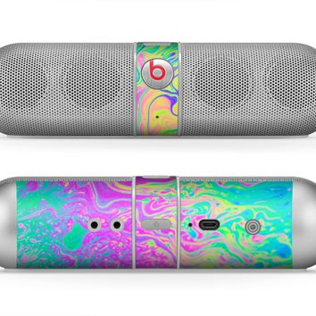 The Neon Color Fushion Skin for the Beats by Dre Pill Bluetooth Speaker