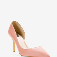 White House | Black Market Ella Leather d'Orsay Pumps