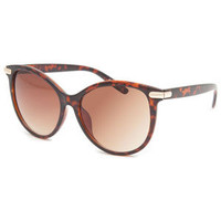 Full Tilt Harlow Sunglasses Tortoise One Size For Women 23834040101