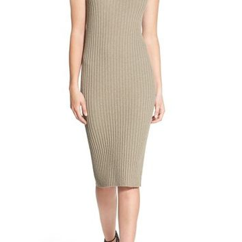 James Perse Rib Knit Body-Con Dress | Nordstrom