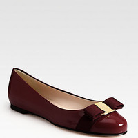 Varina Patent Ballet Flats - Zoom - Saks Fifth Avenue Mobile