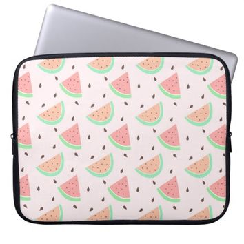Cute Watermelon Pattern Laptop Computer Sleeves