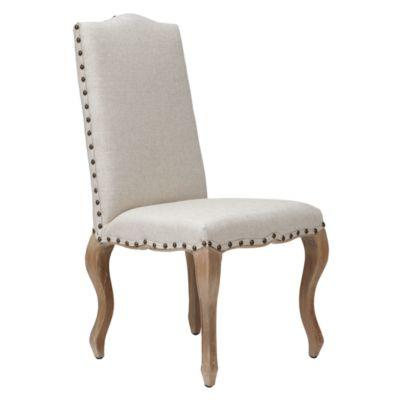 Florette side chair natural w washed from z gallerie for Z gallerie dining room chairs