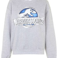 Jurassic World Sweatshirt by Tee & Cake - Topshop
