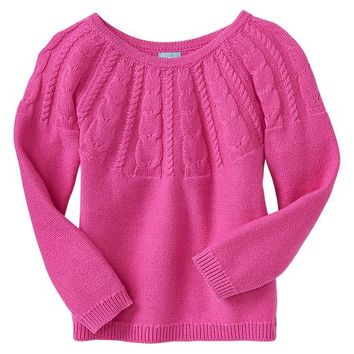 Gap Baby Factory Cable Knit Raglan Sweater