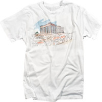 Athens Greek Mythology Cool Graphic Tshirt