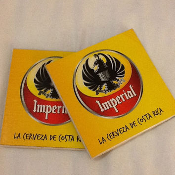 Beer Coaster: Imperial - Costa Rican Beer (pack of 4)