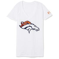 Denver Broncos Bling V-Neck Tee - PINK - Victoria's Secret