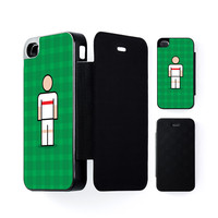 Stuttgart Black Flip Case for Apple iPhone 4 / 4s by Blunt Football European
