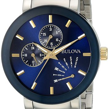Bulova Two-Tone Stainess Steel Watch 98C123