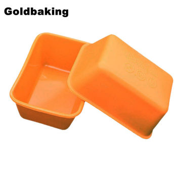10 Pieces Rectangle Silicone Small Loaf Baking Pan