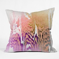 Caleb Troy Earth Tone Safari Throw Pillow