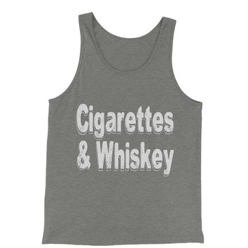 Cigarettes And Whiskey Jersey Tank Top for Men