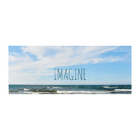 "Iris Lehnhardt ""Imagine"" Beach Sky Bed Runner"