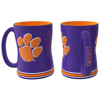 Clemson Tigers NCAA Coffee Mug - 15oz Sculpted (Single Mug)