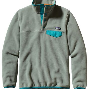 Patagonia Women's Lightweight Synchilla Snap-T Pullover (Verdigris)