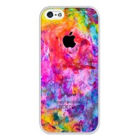 iZERCASE i5r0009AA Colorful Rubber Case - Fits iPhone 5, 5S T-Mobile, AT&T, Sprint, Verizon & International