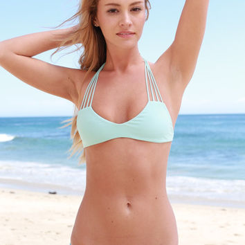 The Girl and The Water - Mikoh Swimwear - Banyans Bikini Top / Capri - $100