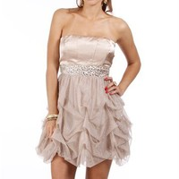 Pre-Order: Verlie-Brown Homecoming Dress