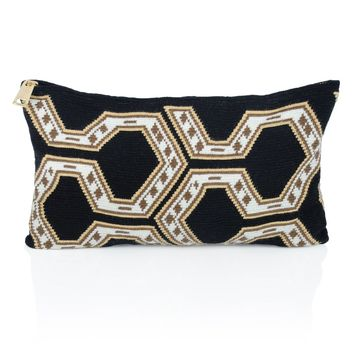 Wayuu Clutch - Isashi - Black