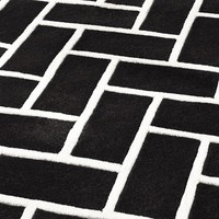 Black & Off-White Rug | Eichholtz Trianon (6x8)