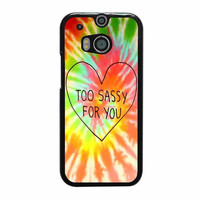 too sassy for you cover design case for htc one m8 m9 xperia ipod touch nexus