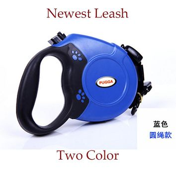 Pet Dog Leash Retractable Collar New 5M Retractable Small Dog Leash Automatic Extending Pet Walking Leads For Medium Large Dogs