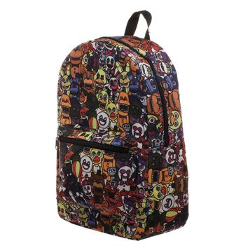 MPBP Five Nights at Freddy's Bag Sublimation Backpack w/ Five Nights at Freddy's Cartoon Stuffed Animals - Five Nights at Freddy's Gift for Gamers