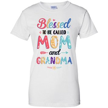 Blessed To Be Called Mom And Grandma Mothers Day Gift