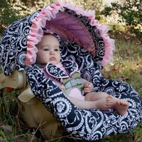 Baby Bella Maya NEW Mid Summer Dream Infant Car Seat Cover