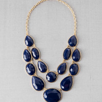 PARKVILLE DOUBLE STRAND JEWELED NECKLACE