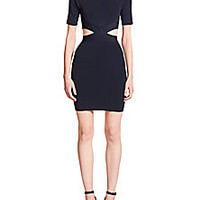 T by Alexander Wang - Cutout Open-Back Dress - Saks Fifth Avenue Mobile