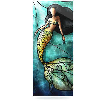 "Mandie Manzano ""Mermaid"" Luxe Rectangle Panel"