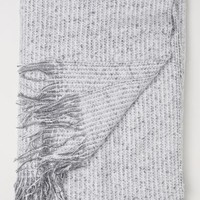 Soft Throw - Gray - Home All | H&M US