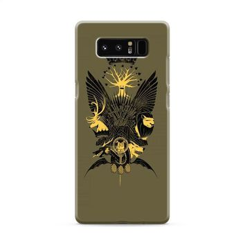 Game Of Thrones Who is Crown Samsung Galaxy Note 8 Case