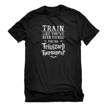 Mens Train for Triwizard Tournament Unisex T-shirt