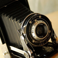 RESERVED for Constantina  -- Vintage 1930s Kodak Senior Six-20 Camera Folding Pocket Camera Deco