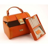 Retro Travel Jewelry Case