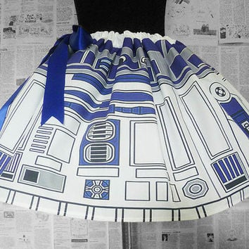 R2D2 Costume, PLUS Size's Available, Star Wars Dress, Skirt, R2D2, RoOBY LaNE