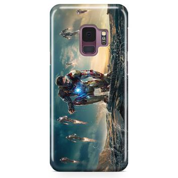 Iron Man Abstract Art Samsung Galaxy S9 Plus Case | Casefantasy