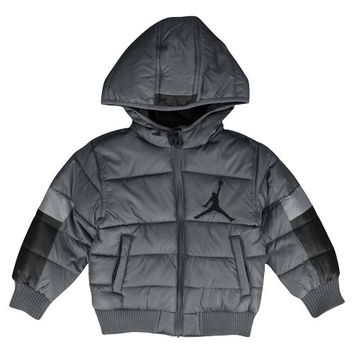 Jordan Nylon Puffer 2.0 Jacket - Boys' Toddler at Foot Locker