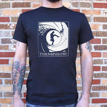 The Ministry of Silly Walks [Monty Python Inspired] Men's T-Shirt
