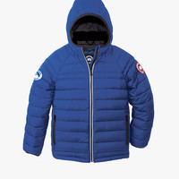 Canada Goose Kids' Youth Sherwood Hooded Jacket in Pacific Blue - FINAL SALE