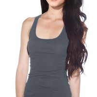 Active Basic Women's Basic Ribbed Tank Tops